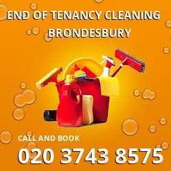 NW6 end of lease cleaning Brondesbury