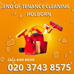 WC2 end of lease cleaning Holborn