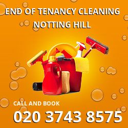 W11 end of lease cleaning Notting Hill