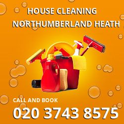 DA8 house cleaning cost Northumberland Heath