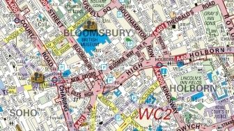 WC2 charing cross